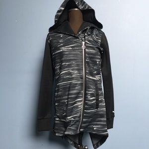 Puma Abstract Split-Back Hooded Track Jacket